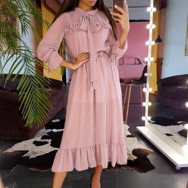 Bohemian Mid-Long Dress