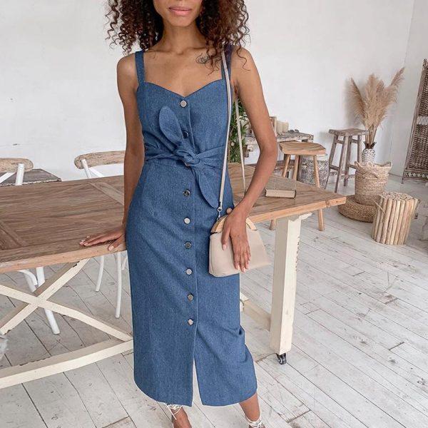 Bohemian Belt Dress
