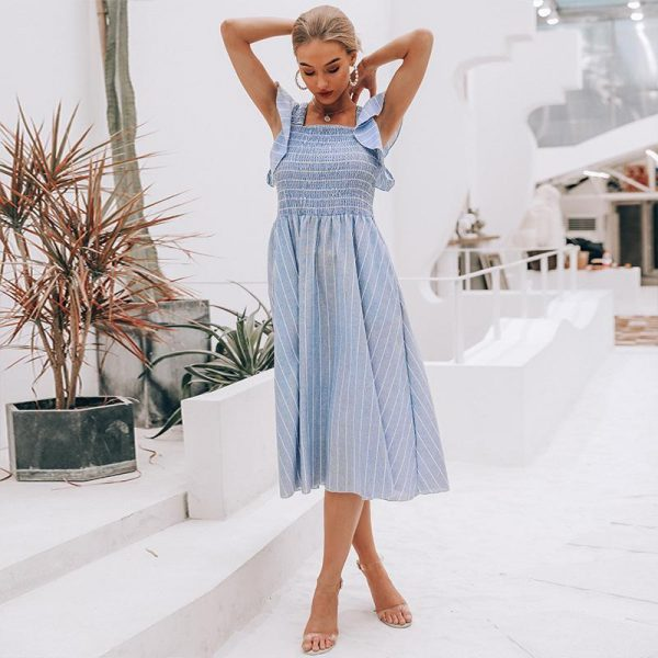 Bohemian Cotton Dress