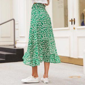 Bohemian Asymmetrical Skirt