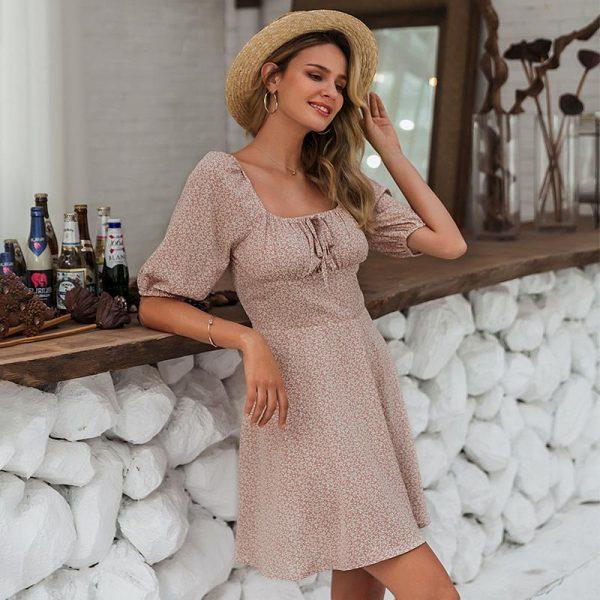 Bohemian Girl Short Dress
