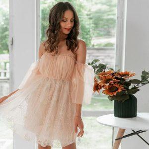 Little Bohemian Evening Dress