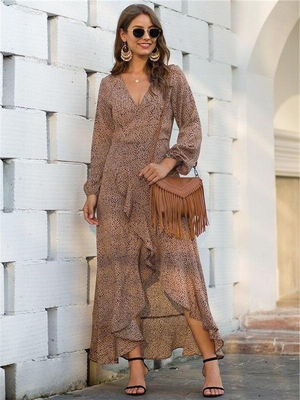 Bohemian dress bapteme
