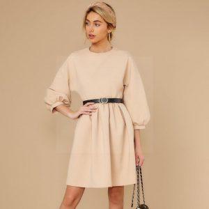 Bohemian pastel dress