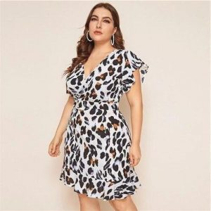 Bohemian maxi dress big size