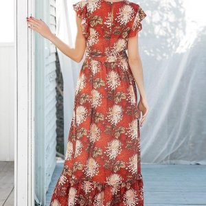 Bohemian long dress