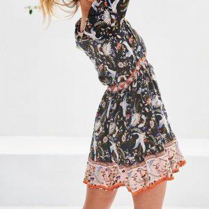 Bohemian chic dress fall 2018