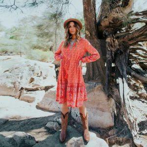 Boho dress for women