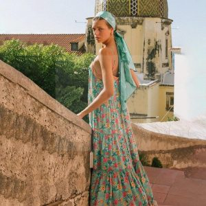 Bohemian hippie style dress
